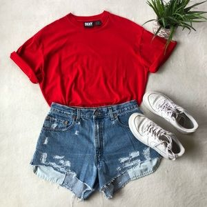 Vintage DKNY Red T-Short Bodysuit